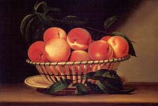 Still Life: Bowl of peaches - New briatain museum