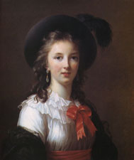 Vigee Le Brun Self-Portrait - 1781