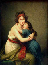 Vigée-Le Brun with her daughter